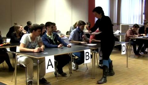 Drones para vigilar a los estudiantes durante los exámenes