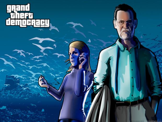 Grand Theft Democracy: Así sería un GTA en España