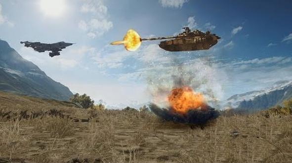 Habíamos oído hablar de los tanques anti-aéreos, pero no de esta manera...