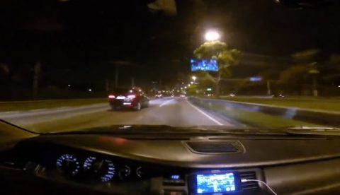 Cuando crees que eres el más rápido de la carretera...