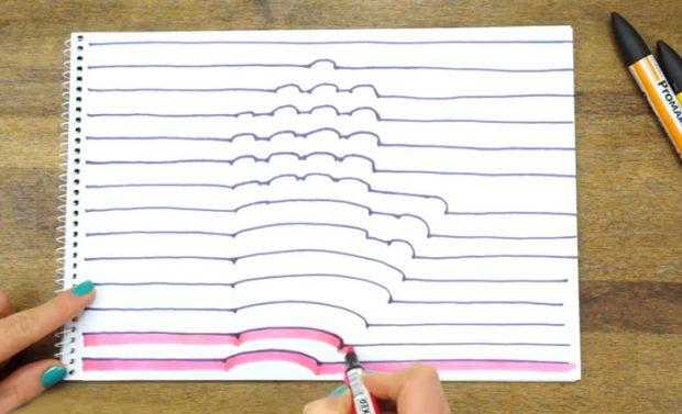 Cómo dibujar tu mano en 3D
