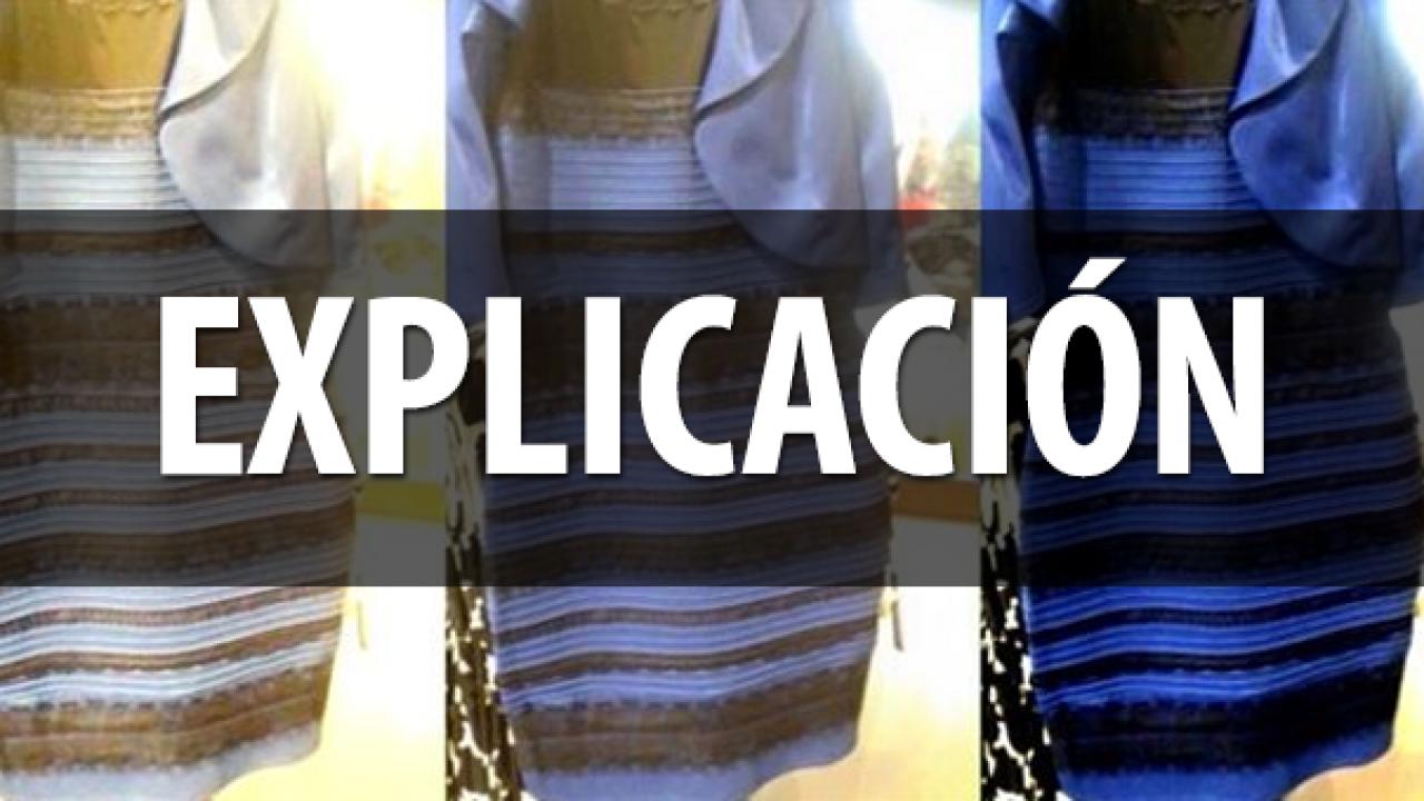 De Qué Color Es El Vestido Aquí Está La Explicación