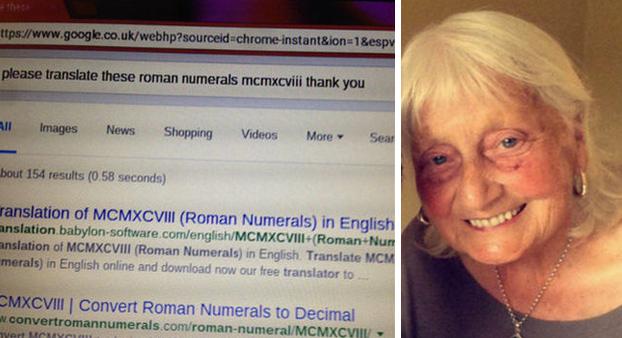 Una abuela escribe 'por favor' y 'gracias' en Google cada vez que hace una búsqueda