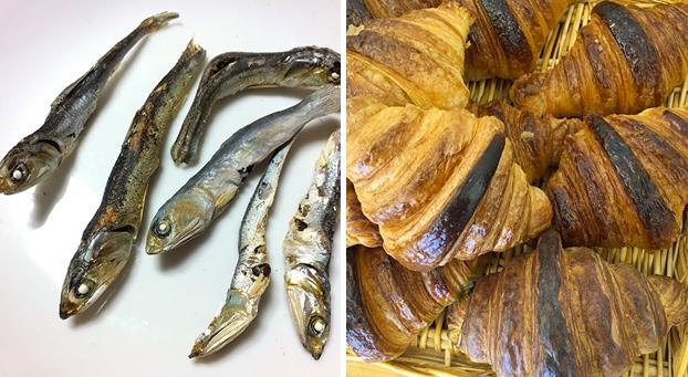 ¿Te parecen unas sardinas o unos croissants? Pues no lo son