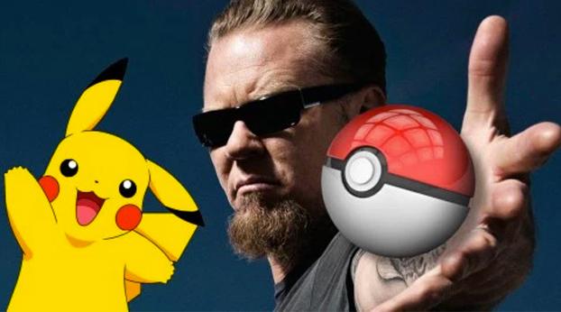 ¿Te imaginas a Metallica cantando el tema de Pokémon? Pues mira...