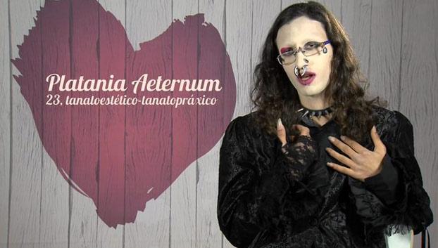 Se llama Platania Aeternum y dice que es un ''ser neutro del quinto sexo divino''