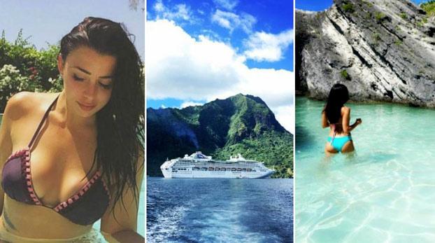 Dos chicas presumen en Instagram de su crucero... con las maletas llenas de cocaína