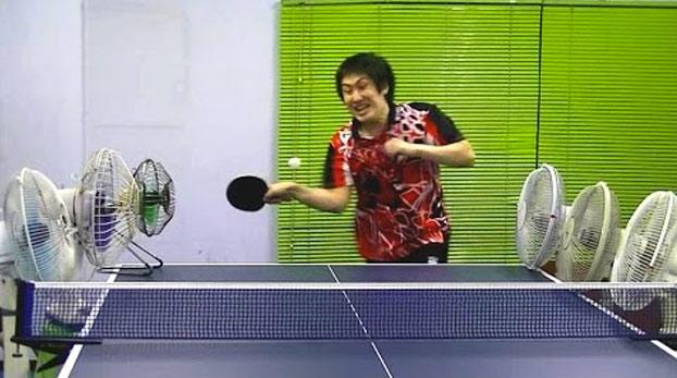 Después de esto nunca verás el ping pong con los mismos ojos