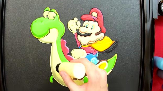 Cuando el hambre y el arte se juntan: Tortita de Super Mario Bros