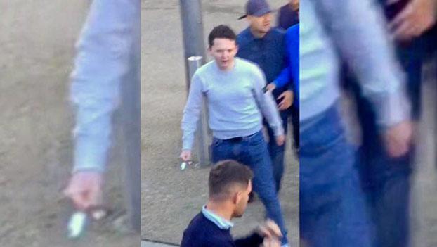 Deplorable: Un aficionado radical acorrala a otro y le ataca con un cuchillo