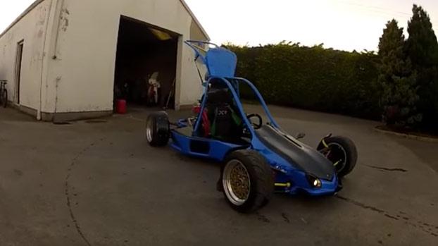Impresionante buggy casero para drift: 15.000 euros en materiales