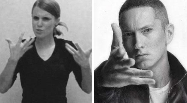 El 'Lose Yourself' de Eminem en lenguaje de signos