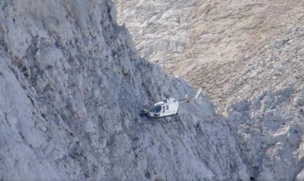 Impresionante rescate de dos montañeros por parte de la Guardia Civil en los Picos de Europa