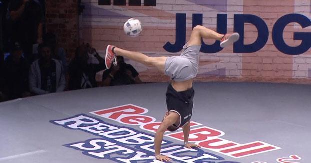 Así es como ganó Carlos Alberto Iacono la increíble final de freestyle