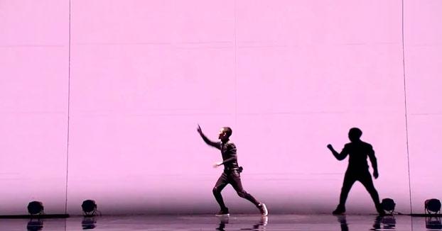 Increíble coreografía sincronizada con animación gráfica. Semifinal de Got Talent Mongolia