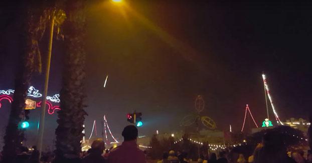 Récord mundial en Malta: Ojo a la última explosión de estos fuegos artificiales