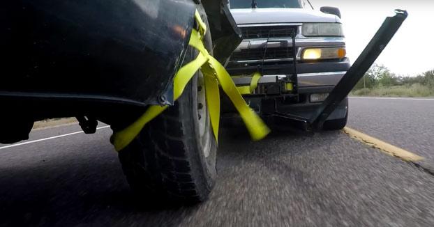 Un hombre inventa Grappler, un nuevo sistema para que la policía pueda detener coches a la fuga