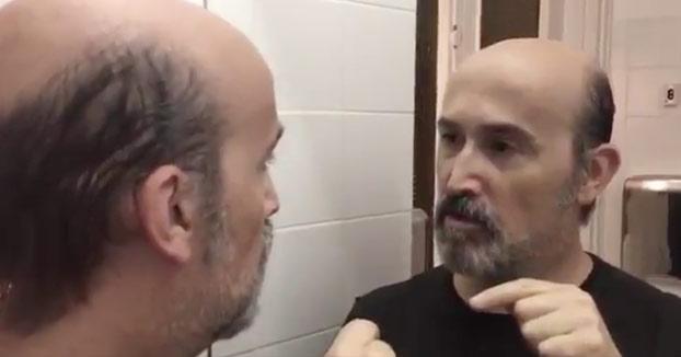Javier Cámara practica su acento colombiano para 'Narcos' (Vídeo)