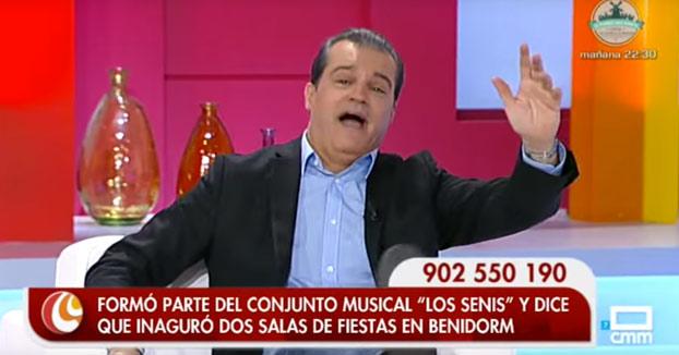 En el programa de Ramón García cada vez que aparece la palabra ''Benidorm'' hacen el siguiente baile