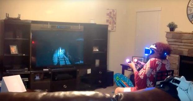 Si no quieres que la abuela muera de un ataque al corazón, no le dejes jugar con las Playstation VR