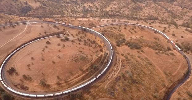 El bucle de Tehachapi, uno de los mejores espectáculos ferroviarios del mundo