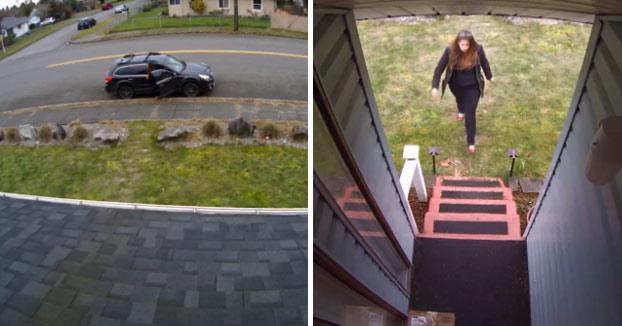 KARMA: Se cansó de que alguien le robase los paquetes que el mensajero le dejaba en la puerta