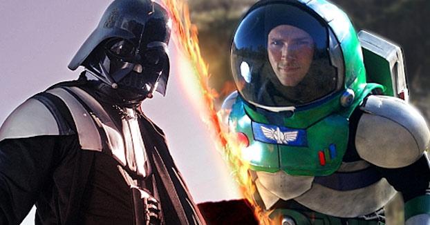 La batalla que todos estábamos esperando: Darth Vader vs Buzz Lightyear