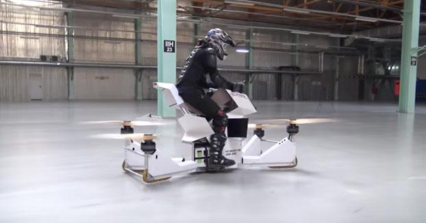 Scorpion 3, la moto voladora que nos acerca un poco más a Star Wars