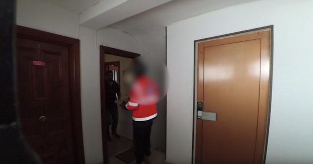 Lamentable: Un youtuber malagueño le echa spray pimienta a un repartidor de pizza (Vídeo)