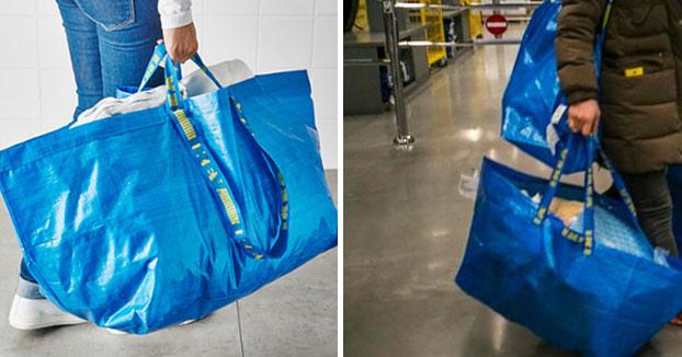 El bolso de 1.700 euros de Balenciaga que es igual que una bolsa de IKEA
