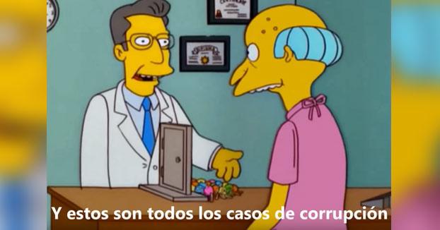 'Cambiemos Murcia' y Los Simpson explican por qué los casos de corrupción no le pasan factura al PP