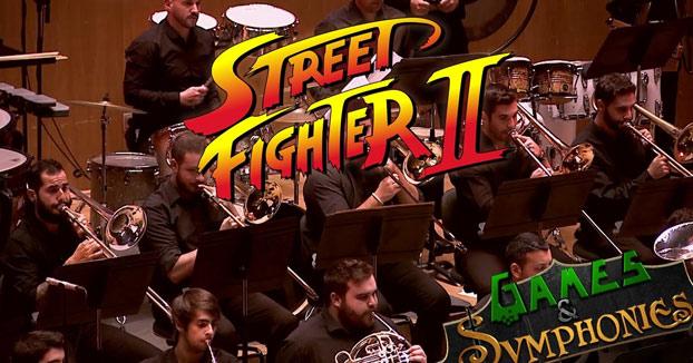 Games&Symphonies tocando algunos de los temas principales de Street Fighter II