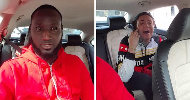 Una pasajera de Uber amenaza a un conductor con denunciarle por violación y queda retratada con este vídeo