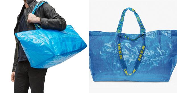 La genial respuesta de IKEA al diseño de Balenciaga inspirado en sus bolsas