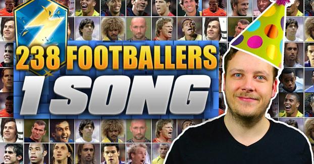 238 nombres de futbolistas para hacer una canción