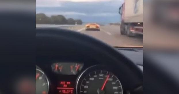 Detenido: Se graba con su R8 a 200 km/h en Barcelona persiguiendo a un Lamborghini