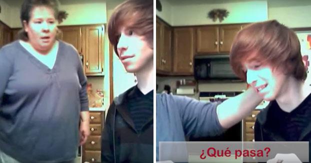 Este joven adolescente le confiesa a su madre que es homosexual y así es como reacciona ella...