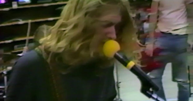 Sale a la luz un vídeo de Kurt Cobain de 1988 antes de ser Nirvana