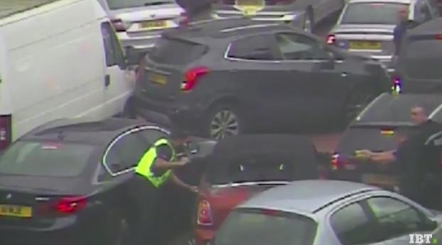 ladron roba mini cooper Birmingham