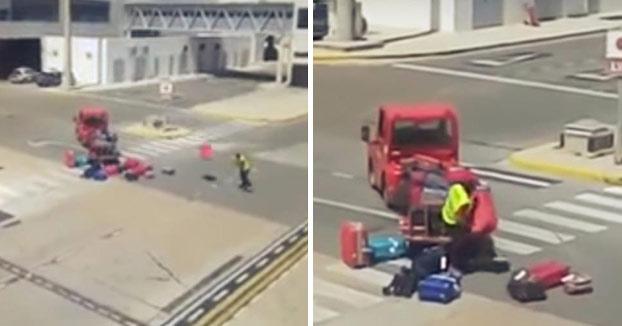 Indignación por el trato a las maletas en el Aeropuerto de Ibiza