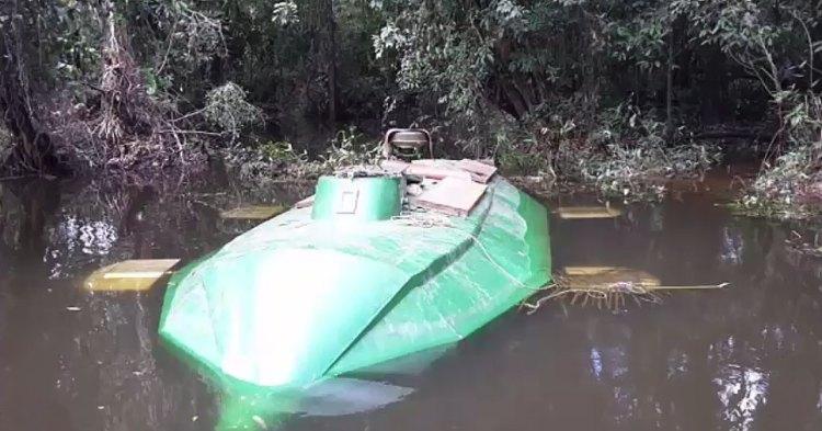 narco submarino colombia
