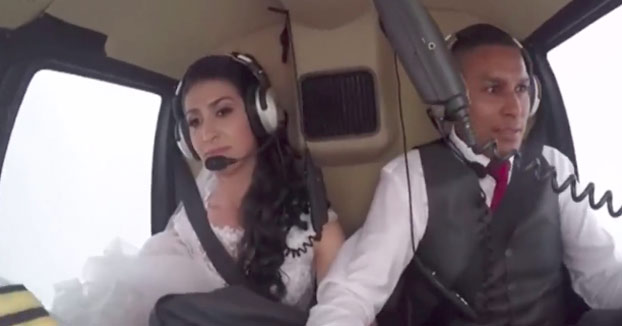 Una novia muere en un accidente de helicóptero. Había planeado sorprender al novio y a los 300 invitados