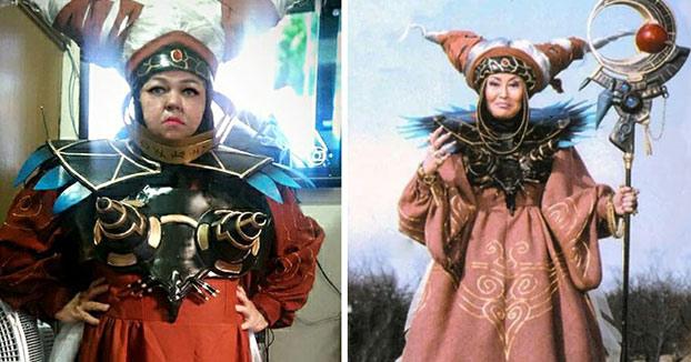 La reina del cosplay: Esta señora arrasa en Internet con sus habilidades de cosplay