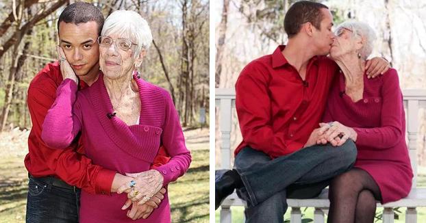 Un joven confiesa que sólo se siente atraído por mujeres de entre 80 y 90 años