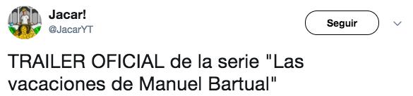 Excelente!: Así es como sería el trailer de la historia de Manuel Bartual si fuese creado por Netflix