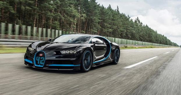 El Bugatti Chiron se pone de 0 a 400km/h y vuelve a 0 en 42 segundos