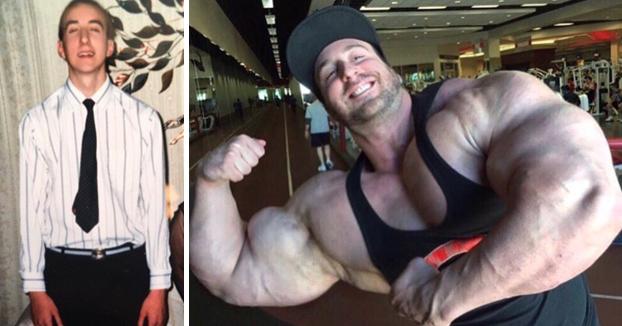 El cambio de Craig Golias, el fisioculturista más grande del mundo