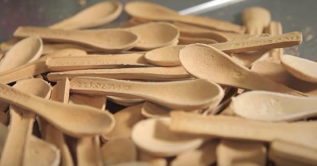 Una genial alternativa, ecológica y sabrosa, a los cubiertos de plástico