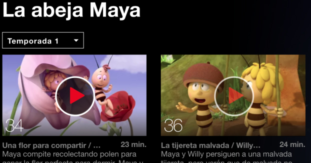 Netflix retira un episodio de La abeja Maya después de que una madre encontrara un pene en segundo plano