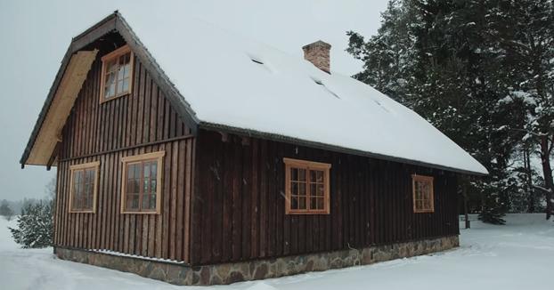 El nacimiento de una casa de madera